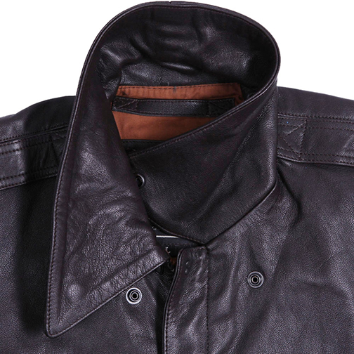 Alpha Industries A-2 Goatskin Leather Jacket