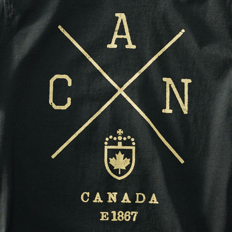 Red Canoe Cross Canada T-Shirt