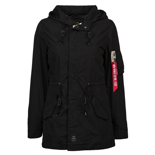 Alpha Industries Womens Diplomat Fishtail Parka