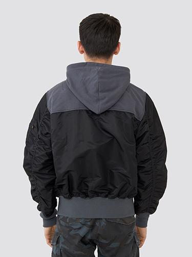 Alpha Industries L-2B Hooded Yoke Loose Flight Jacket