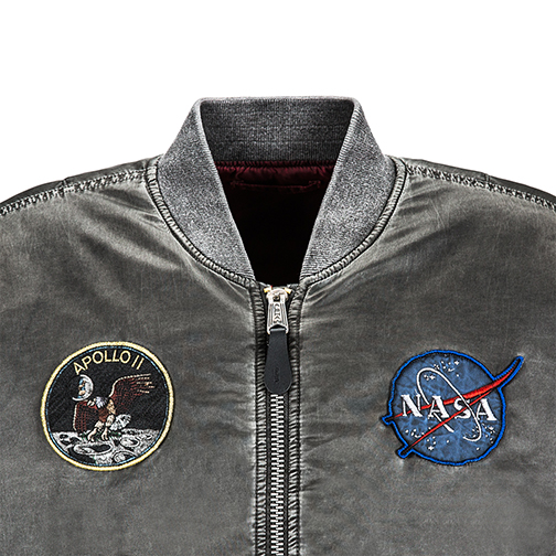 Alpha Industries Apollo MA-1 Battlewash Flight Jacket