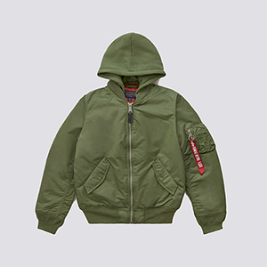 Alpha Industries Womens MA_1 Natus Flight Jacket