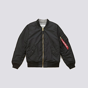 Alpha Industries Womens MA-1 Blood Chit Flight Jacket