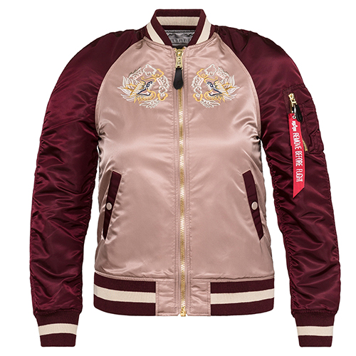 Alpha Industries Womens MA-1 Souvenir Eagle