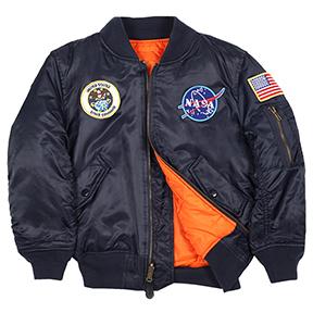 Alpha Industries Youth NASA MA-1 Flight Jacket