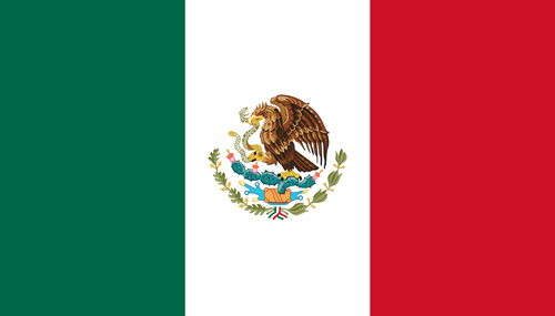 Mexican Flag Badge_Bravo1_Embroidered