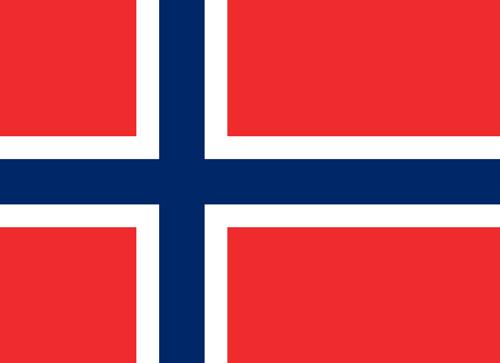 Norwegian Flag Badge_Bravo1_Embroidered