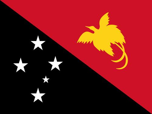 Papua New Guinea Flag Badge_Bravo1_Embroidered