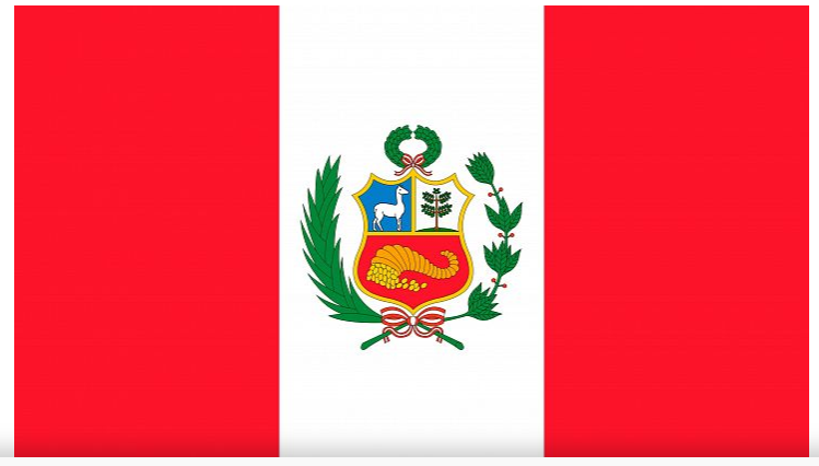 Peru Flag Badge_Bravo1_Embroidered