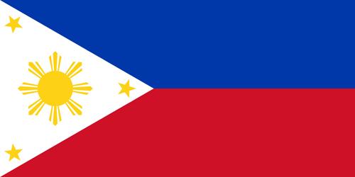 Philippines Flag Badge_Bravo1_Embroidered