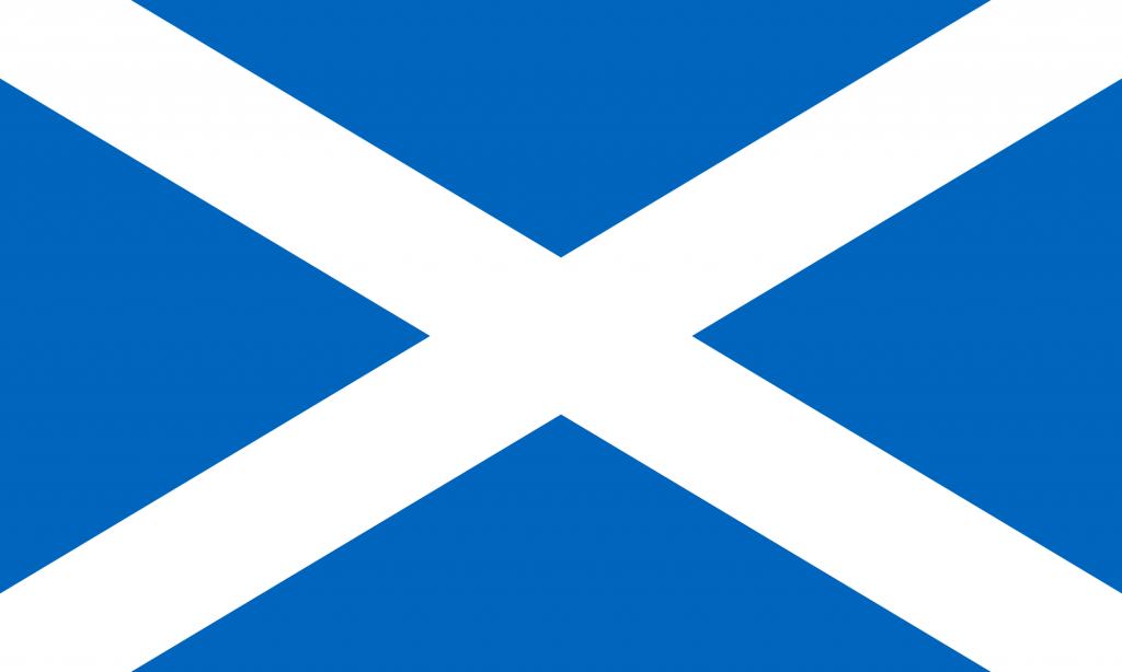 Scottish Flag Badge_Bravo1_Embroidered