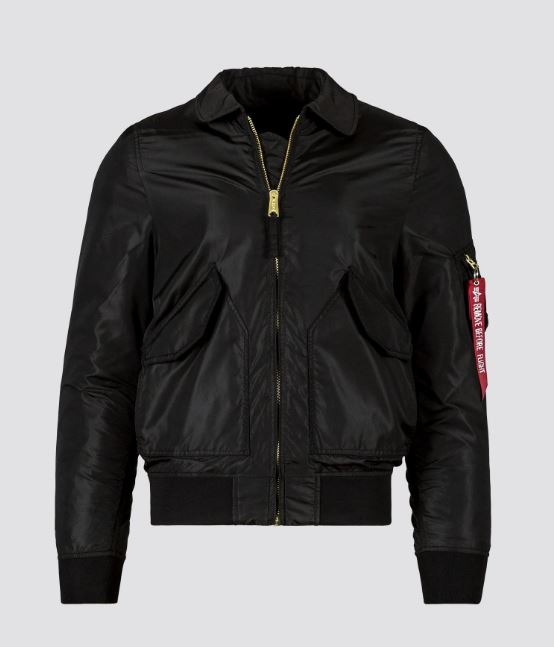 CWU 36P Mod Flight Jacket Black