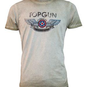 Top Gun Wings Logo Tee Front