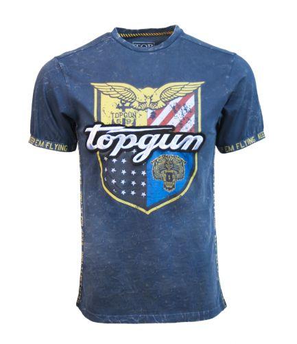 Top Gun Isignia Tee Navy